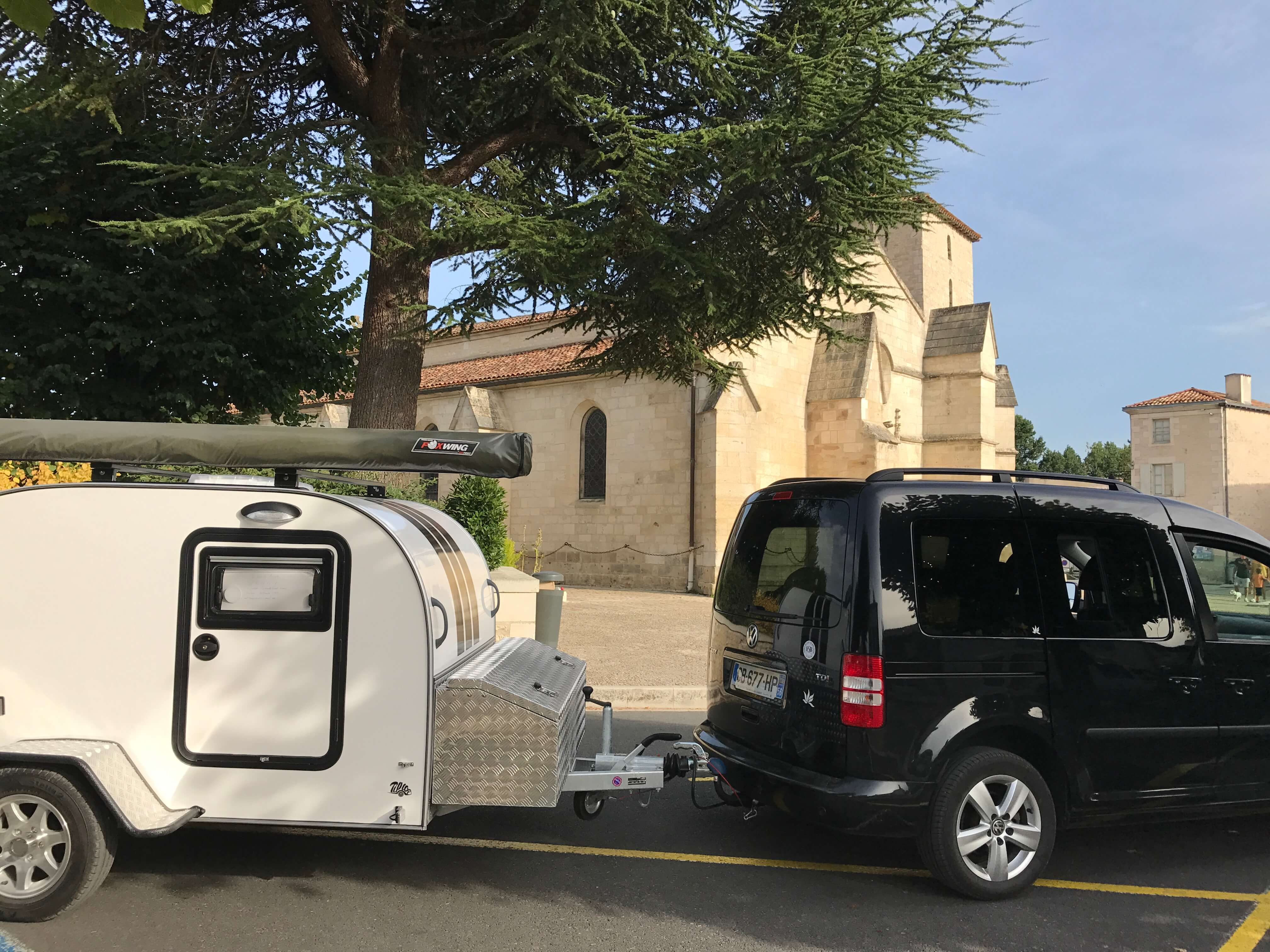 Le Marais Poitevin en caravane Tear Drop