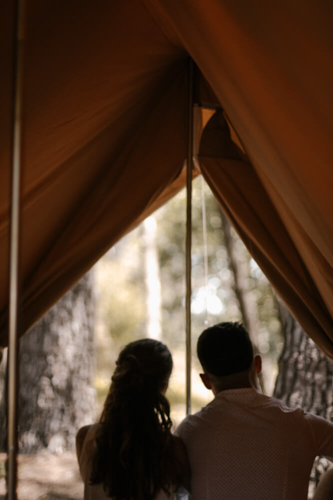 la grande ourse Tente en Coton Patrouille