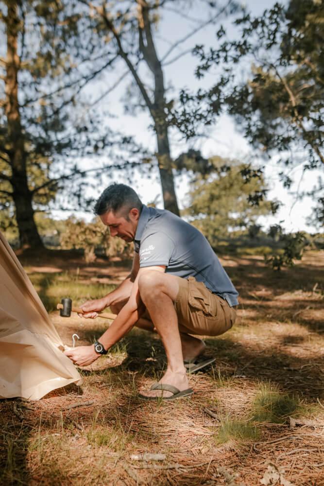 la grande ourse Tente en Coton Dakota