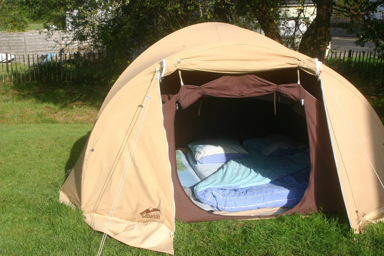 location de tente en coton 4 places la grande ourse. Black Bedroom Furniture Sets. Home Design Ideas