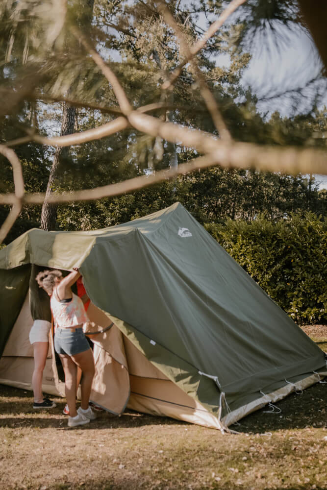 la grande ourse Tente en Coton Barbados