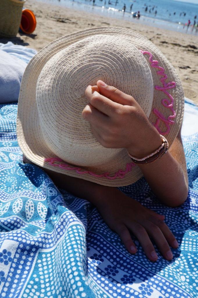 a la plage à mesquer
