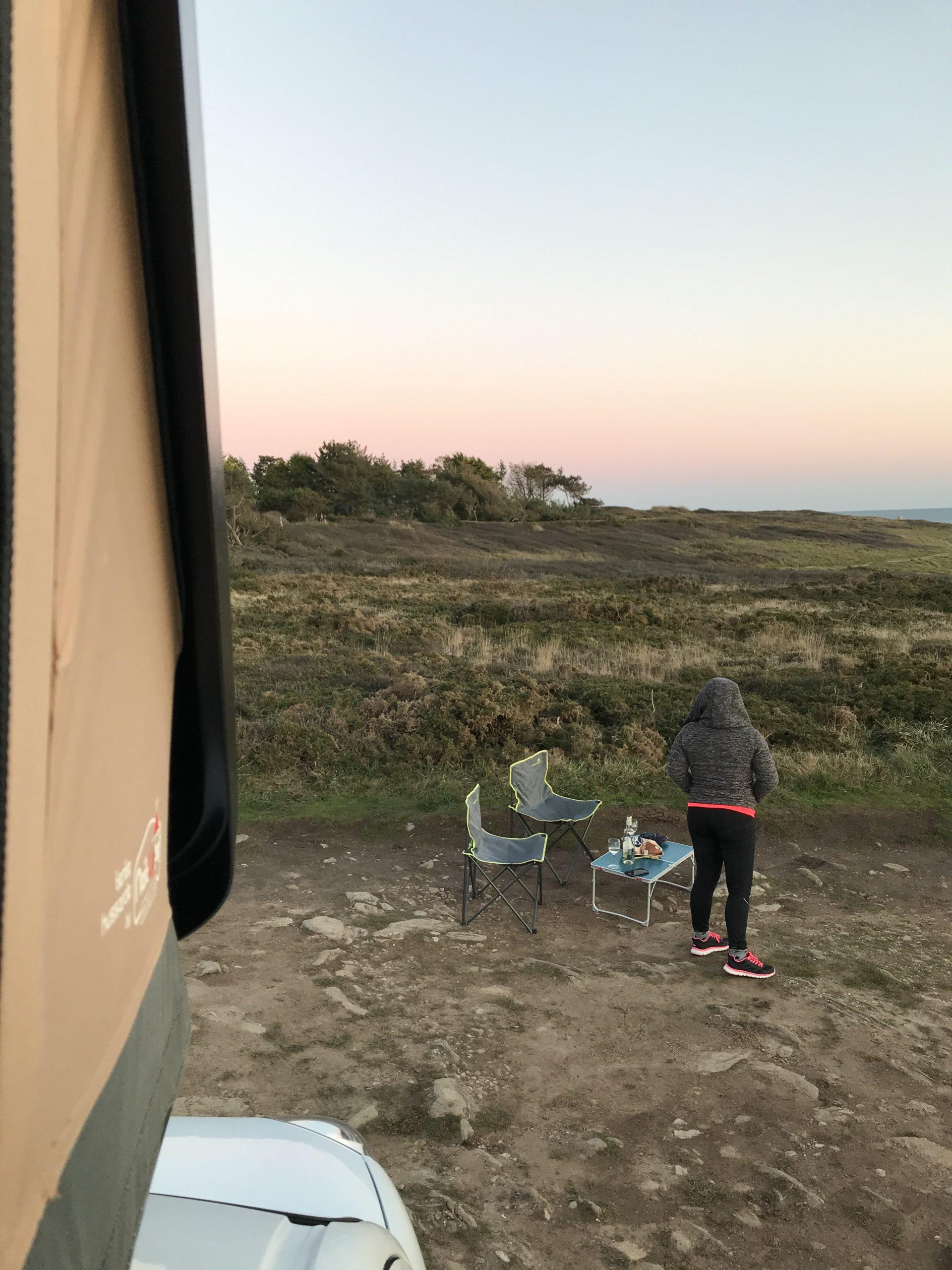 Camper hors saison…
